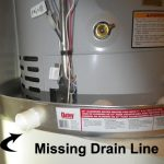 Scottsdale Home Inspection Findings; Water Heater Drain Pan